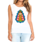 Transfer sublimático para camiseta Santos 004445
