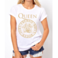 Transfer sublimático para camiseta Queen 000306