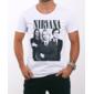 Transfer sublimático para camiseta Nirvana 000288
