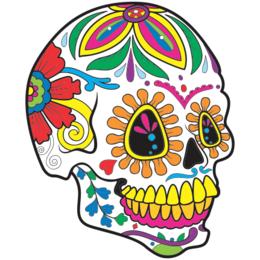 aa5ea4bc4 Transfer sublimático para camiseta Caveira Mexicana 002056
