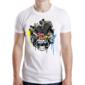 Transfer sublimático para camiseta Caveiras 003072