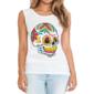 Transfer sublimático para camiseta Caveira Mexicana 002056