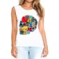 Transfer sublimático para camiseta Feminina 002211