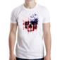 Transfer sublimático para camiseta Caveiras 003695