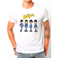Transfer sublimático para camiseta The Beatles 002135