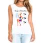 Transfer sublimático para camiseta Design de Sobrancelhas 004741