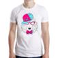 Transfer sublimático para camiseta Animal Hipster 003453