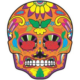 27ff20ba0 Transfer sublimático para camiseta Caveira Mexicana 002050