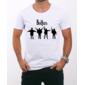 Transfer sublimático para camiseta The Beatles 000319