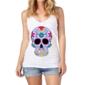Transfer sublimático para camiseta Caveira Mexicana 000103