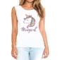 Transfer sublimático para camiseta Unicórnio 003406