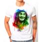 Transfer sublimático para camiseta Seu Madruga/Bob Marley 003261