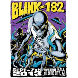 7341f700b Transfer sublimático para camiseta Blink-182 002075