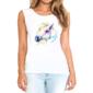 Transfer sublimático para camiseta Feminina 004117