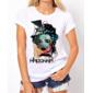 Transfer sublimático para camiseta Madonna 000271