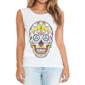 Transfer sublimático para camiseta Caveira Mexicana 002048