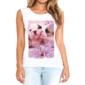 Transfer sublimático para camiseta Feminina 003253
