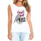 Transfer sublimático para camiseta Feminina 002680
