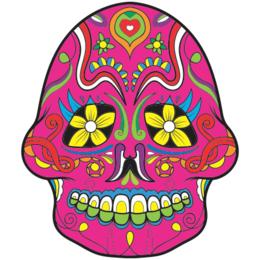 a9b502e3f Transfer sublimático para camiseta Caveira Mexicana 002052