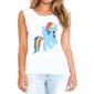 Transfer sublimático para camiseta Unicórnio 003376