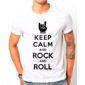 Transfer sublimático para camiseta Keep Calm 002937