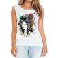 Transfer sublimático para camiseta Feminina 001964