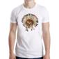 Transfer sublimático para camiseta Caveiras 003664