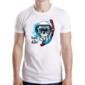Transfer sublimático para camiseta Caveiras 003689
