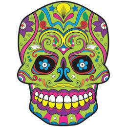 1d1728712 Transfer sublimático para camiseta Caveira Mexicana 002054