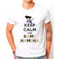 Transfer sublimático para camiseta Keep Calm 002947