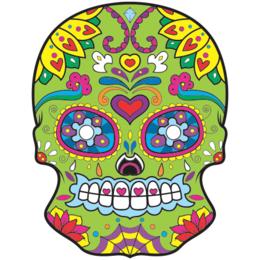 4d76632e8 Transfer sublimático para camiseta Caveira Mexicana 002051