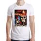 Transfer sublimático para camiseta Caveira Mexicana 004829