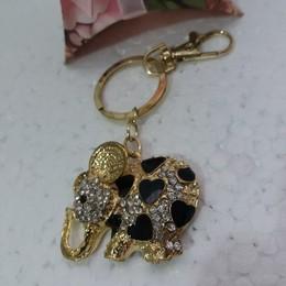 Chaveiro Elefante Preto