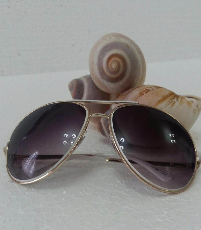 263c99acf7680 Óculos Aviador- White - Santa Vitrine