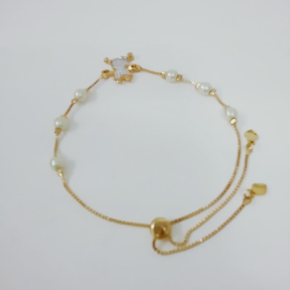 Pulseira Pérolas- Menina- Semi jóia