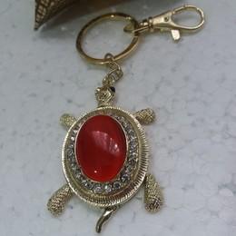 Chaveiro Tartaruga- Vermelha
