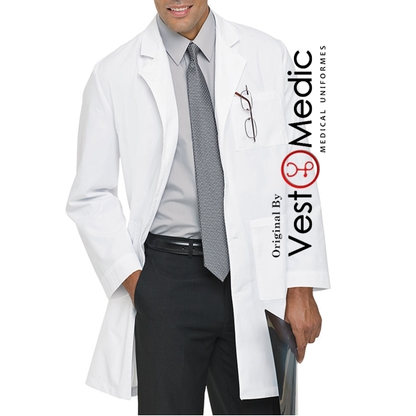 Jaleco Médico Masculino - Microfibra