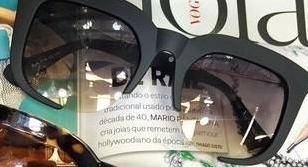 b2c774ef74f82 Óculos Miu Renoir Preto Fosco Óculos Miu Renoir Preto Fosco ...