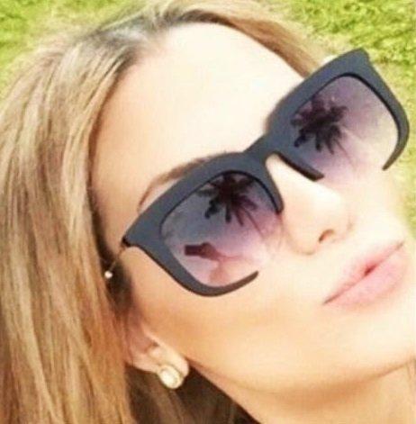 79ddfb1c8c304 Óculos Miu Renoir Preto Fosco - Loja A Luxuosa