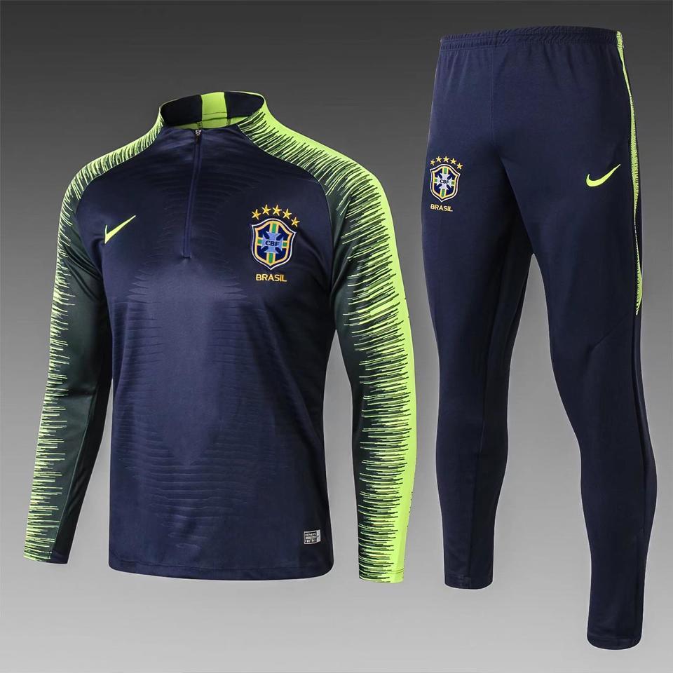 aa5eb5708483f Agasalho Seleção Brasileira Nike 2018 - MWgrifes - Aqui é Top!