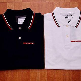 23d3f0d547ea5 Kit com 2 Camisas Polo Prada Lisa - MWgrifes - Aqui é Top!