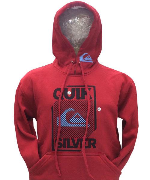 Blusa Moletom Quiksilver Vermelha QSHG - MWgrifes - Aqui é Top! b9be729b1c