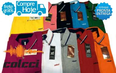 b7cb6b4364 Kit 10 Camisas Polo Diversas Marcas Atacado - MWgrifes - Aqui é Top!