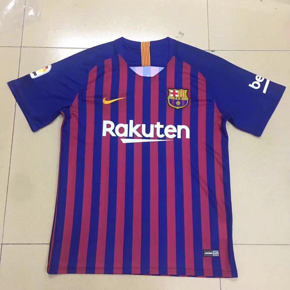 Camisa Barcelona Nike Listrada Home 2018 - MWgrifes - Aqui é Top! 96d5c18f7b