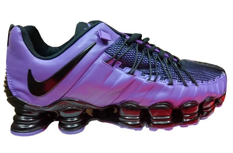 ba6f8b56505 Tênis Nike Total Shox 12 Molas Roxo e Preto - MWgrifes - Aqui é Top!