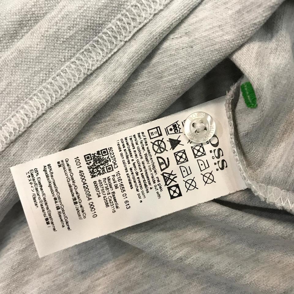 Camisa Polo Hugo Boss Cinza Clara Ref 516 - MWgrifes - Aqui é Top! c3d53968f0c