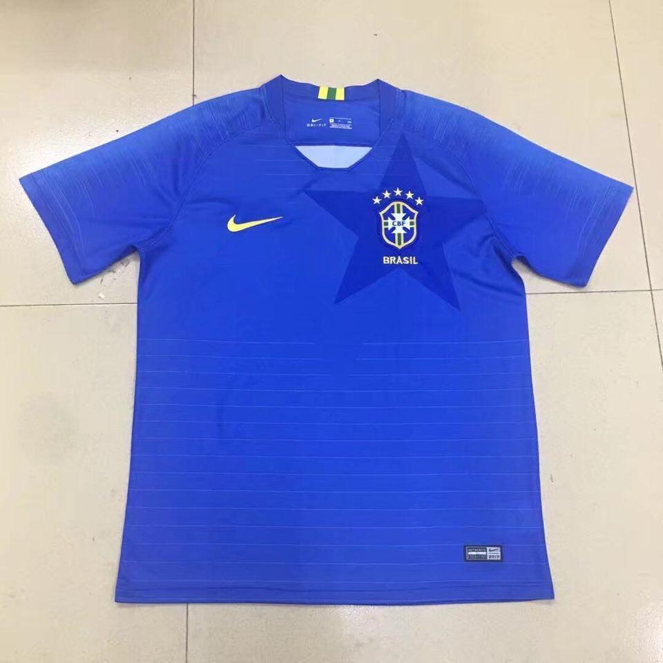 Camisa Seleção Brasileira Azul II 2018 Nike - MWgrifes - Aqui é Top! e34b768be82c9