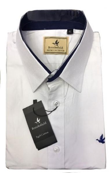 1d0b431a6f0 Kit com 2 Camisas Social Brooksfield Cores a Escolher - MWgrifes ...
