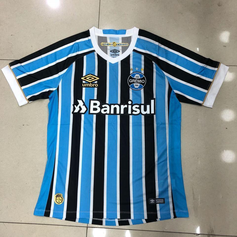 Camisa Grêmio Umbro Preta e Azul Listrada - MWgrifes - Aqui é Top! a421e0f52c9e3