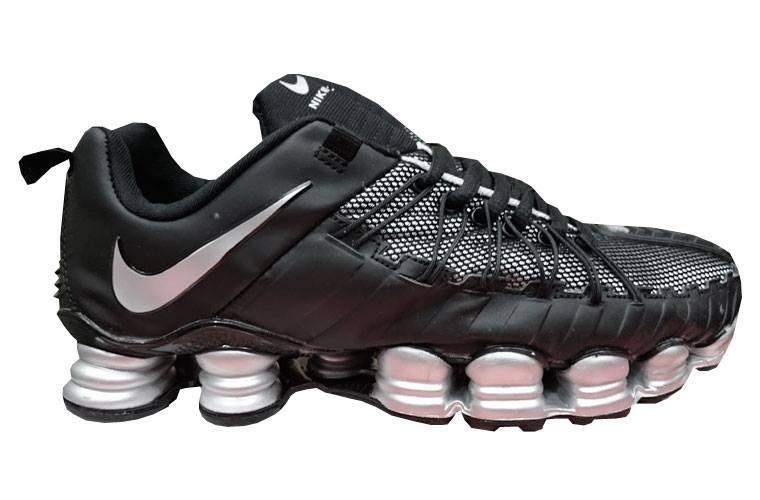 Tênis Nike Total Shox 12 Molas Preto e Prata - MWgrifes - Aqui é Top! 2bf7a1398